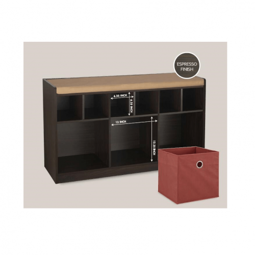 9-Section Cabinet with Seat (in-store pickup only) - Magasins Hart | Hart Stores