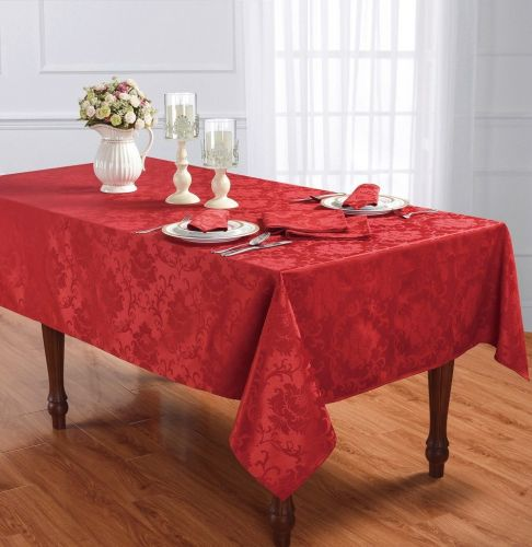 Table Cloth 60*84 Red Scala - Magasins Hart | Hart Stores