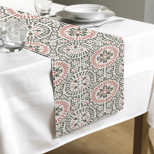 Tenner Collection - Printed Table Runner - Magasins Hart   Hart Stores