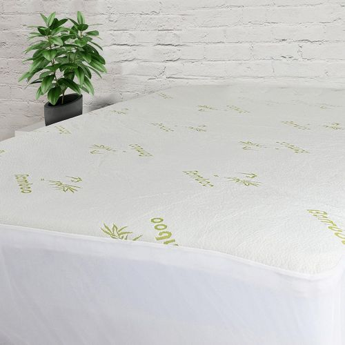 W Home - Bamboo-Blend Quilted Mattress Pad - Magasins Hart | Hart Stores