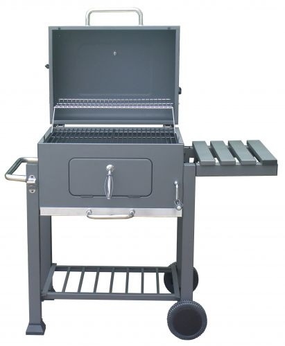 Charcoal BBQ with Adjustable Grill