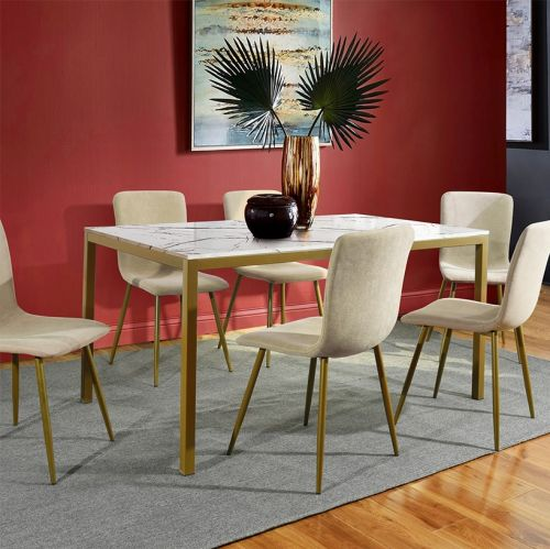Brandt - Marble Dining Table