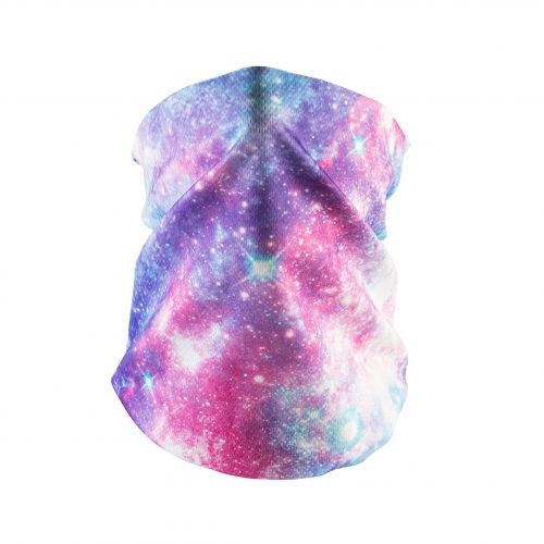 Bandana Face Mask - Pink Universe (Available online only)