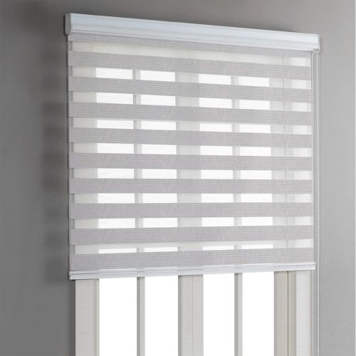 Day & Night Roller Blinds - Grey - Magasins Hart   Hart Stores