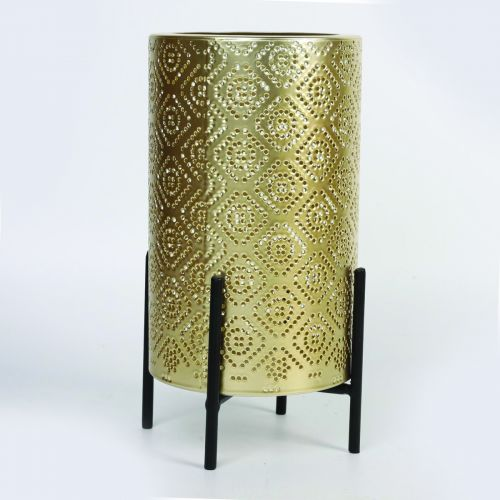 Gold Candle Holder 21 W