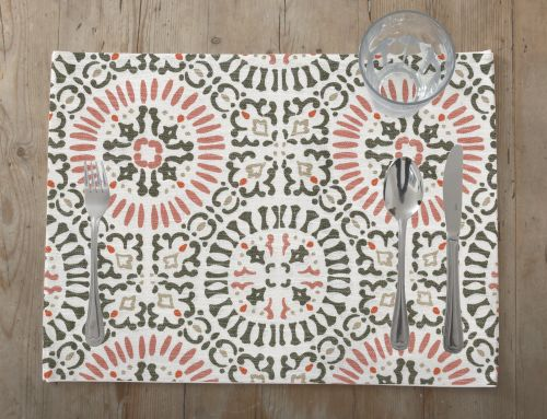 Tenner Collection - 4 Piece Printed Placemats - Magasins Hart | Hart Stores